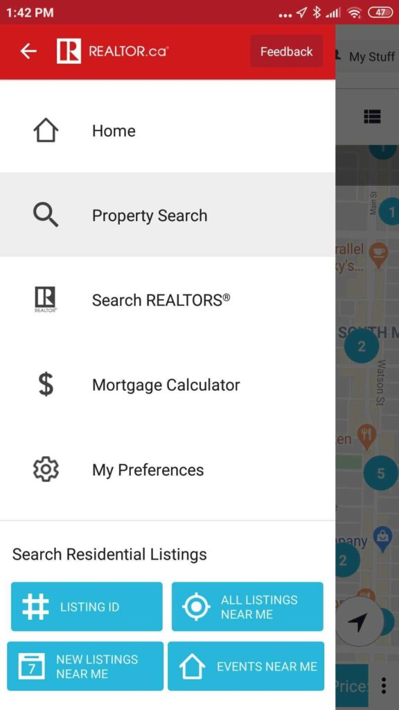 realtor.ca app home